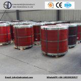 Feuille de bois en acier recouvert de couleur PPGI / PPGL en bobine 0,2-2,0 mm * 600-1250 mm