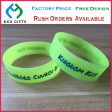 Glow in Dark Debossed/Embossed/Printed Silicone/Silicon Band