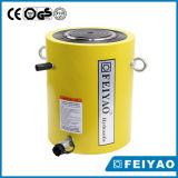 Cylindre hydraulique de tonnage élevé à simple effet de 100 crics hydrauliques de tonne