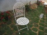 Круг ввоза Китая дешевый античный белый складывая напольный и крытый стул