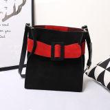 Colorare il sacchetto di Tote d'avanguardia delle donne del cuoio di marca delle borse del progettista di scontro Emg4852