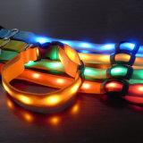 Hundehalsring des multi Farben-schützender Nylon-LED