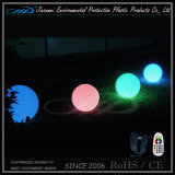 PE material de rotación de plástico de plástico flotante bola con control remoto
