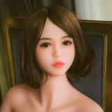 Верхняя головка силикона куклы Quaity сексуальная для игрушки секса для людей