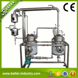 Máquina erval solvente eficiente elevada do extrato