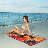 印刷されたMicrofiberのビーチタオル70X150cm