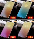 на Apple 7 следуя за iPhone6s плюс случаи мобильного телефона света сини порошка вспышки градиента