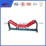 Ленточный конвейер через роликовый транспортер