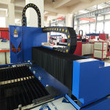 Cnc-Gewebe-Metallflaches Blatt-Faser-Laser-Ausschnitt-Gravierfräsmaschine