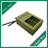 Коробка трудного ботинка бумажная с перегородкой