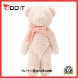 O urso cor-de-rosa de Bowtie Jonited articulou o urso da peluche para a venda