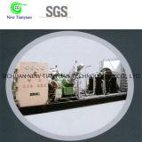 Gas sin aceite que recicla el compresor de gas de impulso de la presión