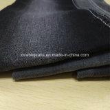 Tela negra del dril de algodón de 10 onzas (T135)