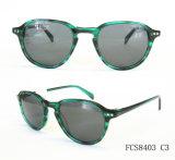 Acetato Eyewear dos óculos de sol com lente polarizada