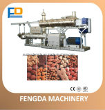 Doppelschrauben-Nassdampf-Zufuhr-Extruder für Aquafeed und Viehbestand-Zufuhr--Zufuhr-Verdrängung-Maschine (TSE128)
