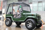 Buggy di sport, ATV con jeep di Willys dei 4 colpi la mini