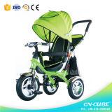 Baby-Kleinkind-Dreirad mit Stoss-Stab