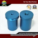 Geanodiseerd CNC van de Ring van de buis Kleur Aluminium die de Gedraaide Delen van het Geval machinaal bewerken CNC