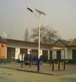 luz de rua solar ao ar livre do diodo emissor de luz de 4m com a lâmpada 9W