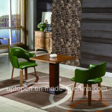 덮개를 씌운 의자 및 향상 단단한 테이블 (SP-CT784)를 가진 갱도지주 대중음식점 가구 세트