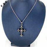 Bijoux fantaisie Bijoux Fashion Croix Crâne 316L Pendentif en acier inox