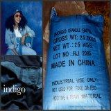 Poudre organique ou granules de colorants bleu indigo pour la teinture de jeans