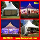 tente en aluminium de tente de pagoda de PVC de 3mx3m pour les événements et l'usager