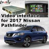 De VideoInterface van de auto voor de Facultatieve Verkenner van Nissan van 2017, het Androïde Achtergedeelte van de Navigatie en Panorama 360
