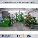 O pneu automático recicl a planta, planta de recicl Waste 500kg/H do pneu