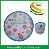 Diâmetro 25cm Nylon Cloth Foldable Pet Frisbee