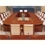 Tabela de reunião antiga chinesa da sala de reuniões do escritório da madeira contínua