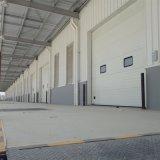Portello sezionale industriale della fabbrica elettrica