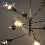 Moderner dekorativer Zweig-Form-Leuchter-hängende Lampe