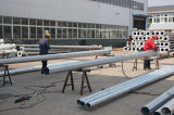 7m9m11m13mの鋼鉄屋外の街灯柱HDG ISO