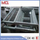 Résistance aux UV PVC Cadre Verre Fenêtres pour le bord de mer Utilisation
