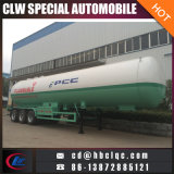 Camion-citerne chaud de remorque de LPG Transort de semi-remorque des ventes 6wheels 56m3 LPG