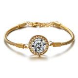 普及したブランドの方法宝石類の女性のステンレス鋼のダイヤモンドのブレスレット