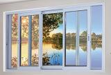 Обрамленные алюминием орденские ленты двери сползать и подъема патио балкона большие с импортированными шкивом и ручкой