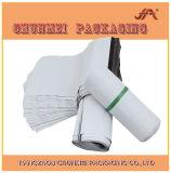 Weißer Farben-Kleid-Polyumschlag-verpackenbeutel für Eil