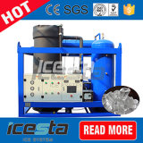 Icesta refrigerado por agua Máquina de hielo de tubo de 25t/24hrs Fábrica de Hielo