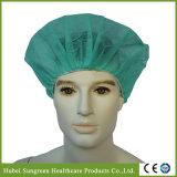 Capuchon chirurgical non tissé jetable avec différentes couleurs
