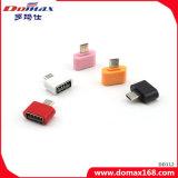 Cartão telefônico OTG Card Reder Adapter com USB 2.0 + Micro USB