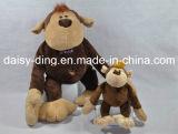 Orangoetan van de Zitting van de pluche de Grote met Zacht Materiaal