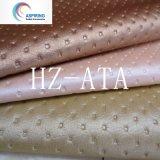 Sellerie tissu doux canapés cuir synthétique en PVC