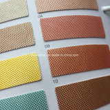 Микроотверстия зерна синтетических PU кожа для обуви решений Hx-S1729