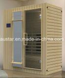 Stanza di sauna di legno solido con il formato personalizzato (AT-8625)