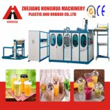 Máquina plástica de Thermoforming de la taza para el material de los PP (HSC-660D)