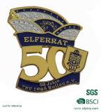 Ricordo personalizzato 50 anni del metallo di Pin del risvolto per la decorazione (bd-013)
