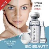 O soro da essência da fibroína reduz enrugamentos que a pele firme faz a pele lisa e macia