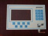 Los 19 claves eléctricos entorpecen el panel de tacto flexible polaco del interruptor de membrana con la pantalla del LCD